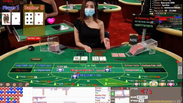 Win Baccarat at Live Casino